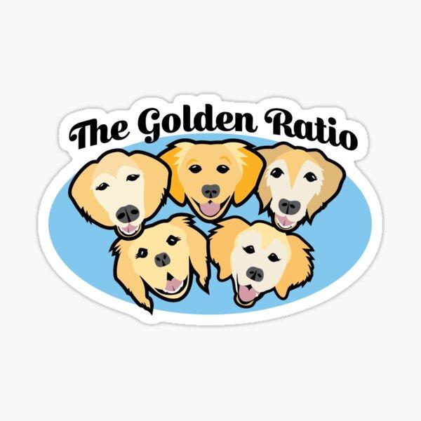 The Golden Ratio Sticker
