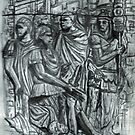 The Dacians Sue For Peace ,Trajan's Column by Jedro