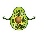Peace, Love, Avocado by jitterfly