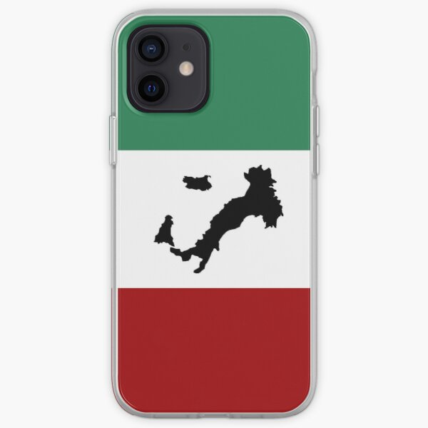 Italian Flag & Boot iPhone Soft Case