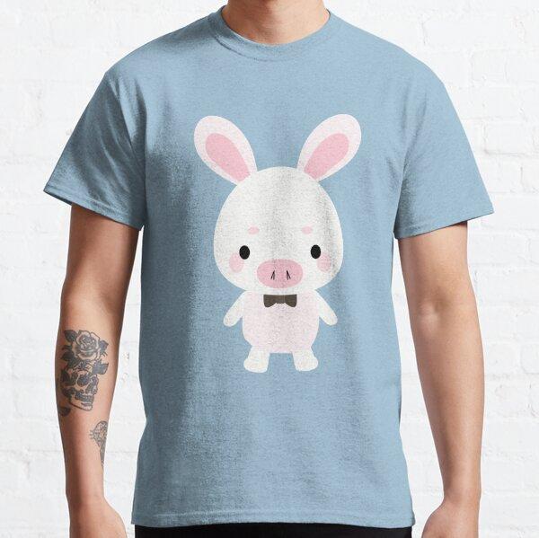Pig Rabbit Plush You are beautiful Classic T-Shirt