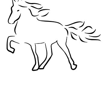 Iceland Horse by Pferdefreundin