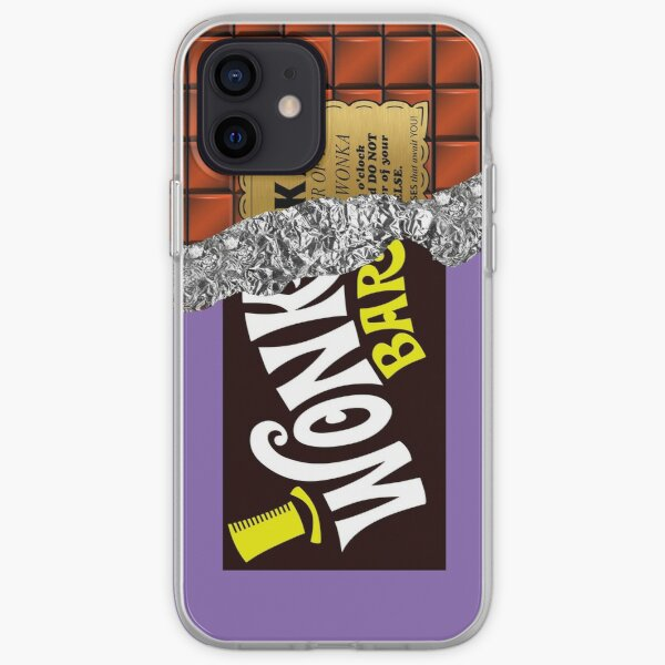 Wonka's Golden Ticket Chocolate iPhone Soft Case