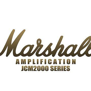 "Marshall Amp JCM2000 Series ""Limited Edition""  by mugenjyaj"