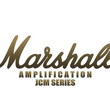 "Marshall Amp All JCM Series ""Limited Edition"" by mugenjyaj"