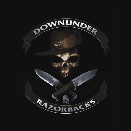 TShirtGifter presents: Downunder Razorbacks Insignia