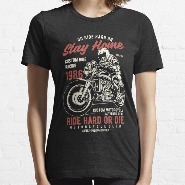 BIKER CAFE RACER T-shirt Born to Ride Gentlemans RACE BMW Boxer Motorcycle