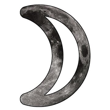 Moon Astrological Symbol by bigbadbear