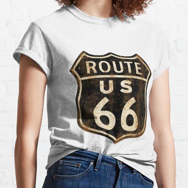 Vintage Route 66 Classic T-Shirt