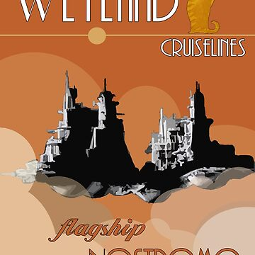 Weyland Travel Poster by Kaybi76