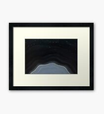 Space Halo Framed Print