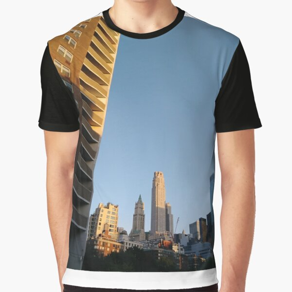 New York City, #NewYork, #City, #NewYorkCity Graphic T-Shirt