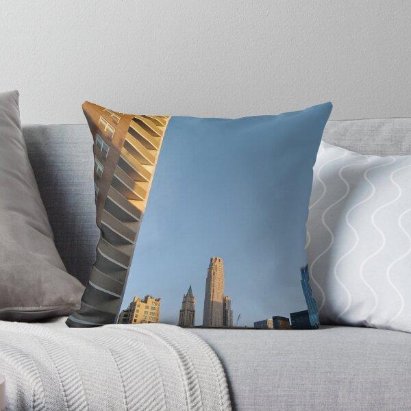 New York City, #NewYork, #City, #NewYorkCity Throw Pillow