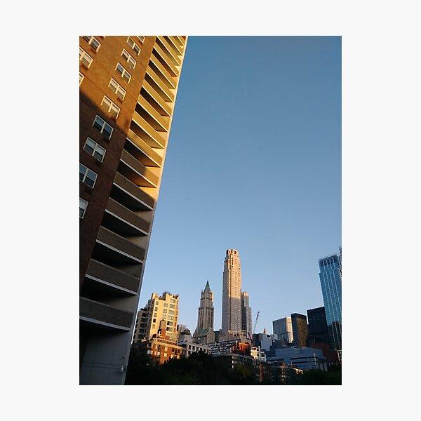 New York City, #NewYork, #City, #NewYorkCity Photographic Print