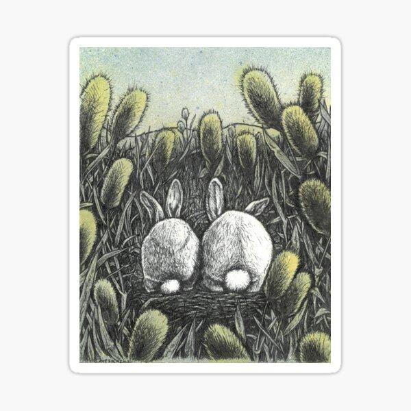 Cottontails Sticker