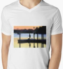 The Angler ! Men's V-Neck T-Shirt
