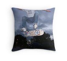 Kickflip Throw Pillow