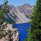 A Wedge of Crater Lake by Bryan D. Spellman