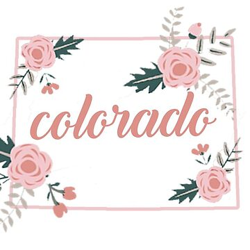 Colorado Floral State by baileymincer