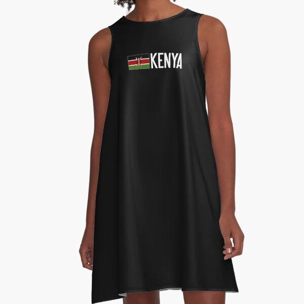 Kenya: Kenyan Flag A-Line Dress
