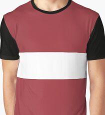 Flag: Latvia Graphic T-Shirt