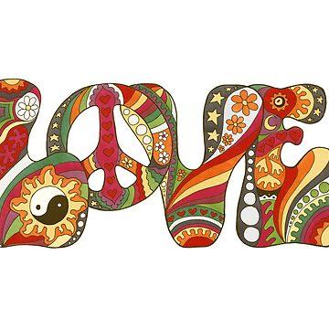 Vintage Psychedelic Love by kelkel66