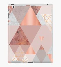 Blush Pink Geo iPad Case/Skin