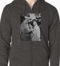 Douglas MacArthur Awarding DSC Medal - WWII Zipped Hoodie