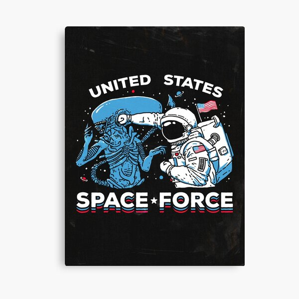 United States Space Force Shirt Canvas Print