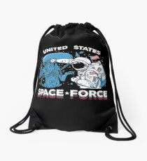 United States Space Force Shirt Drawstring Bag