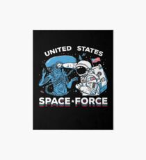 United States Space Force Shirt Art Board Print
