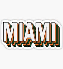 Miami Stacked Sticker