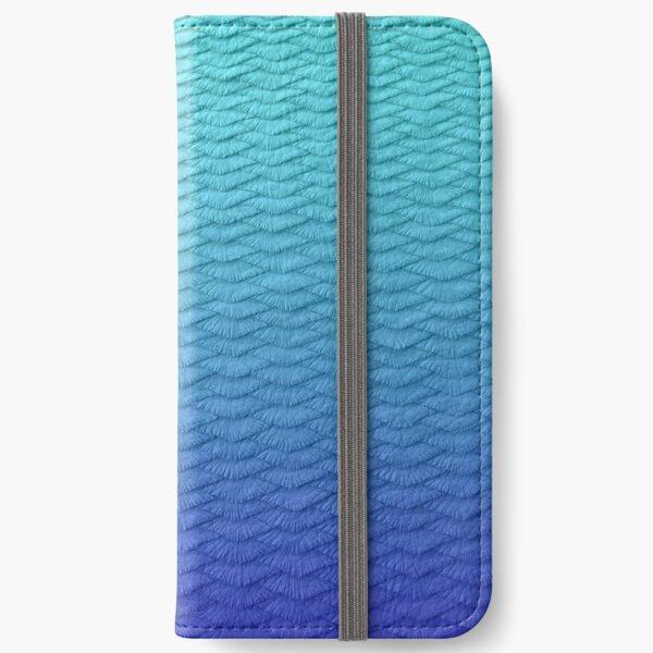 Gradient Leggings Blue iPhone Wallet