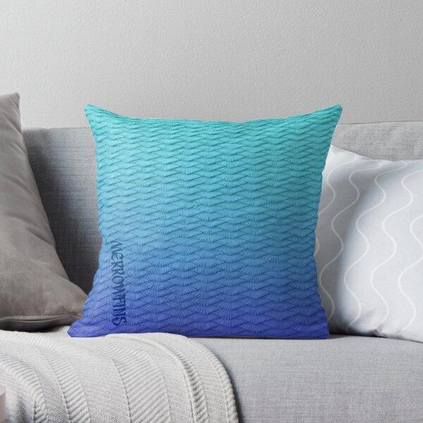 Gradient Leggings Blue Throw Pillow