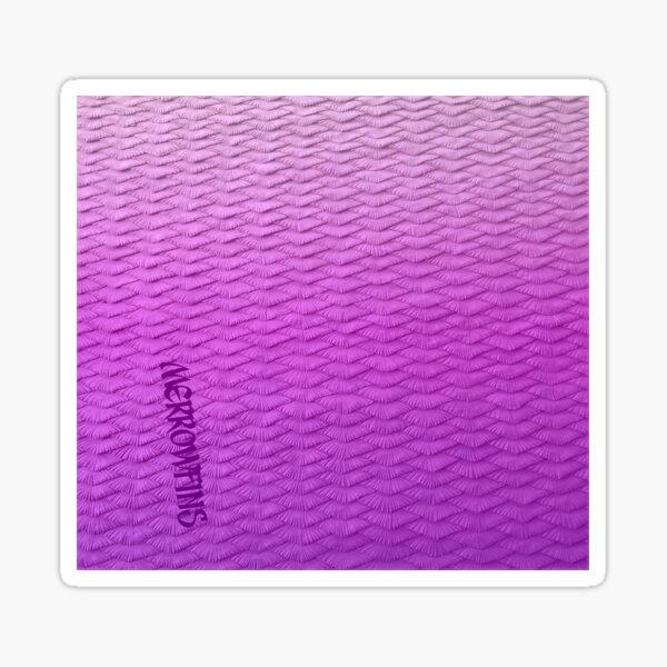 Pink Scaled Gradient  Sticker