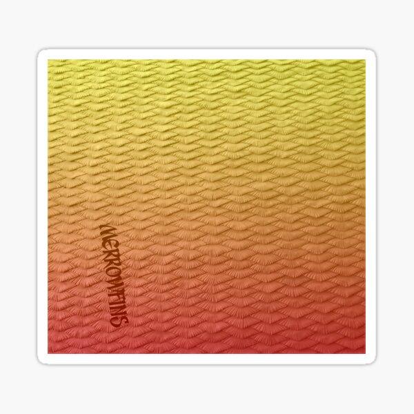 Red scaled Gradient Sticker