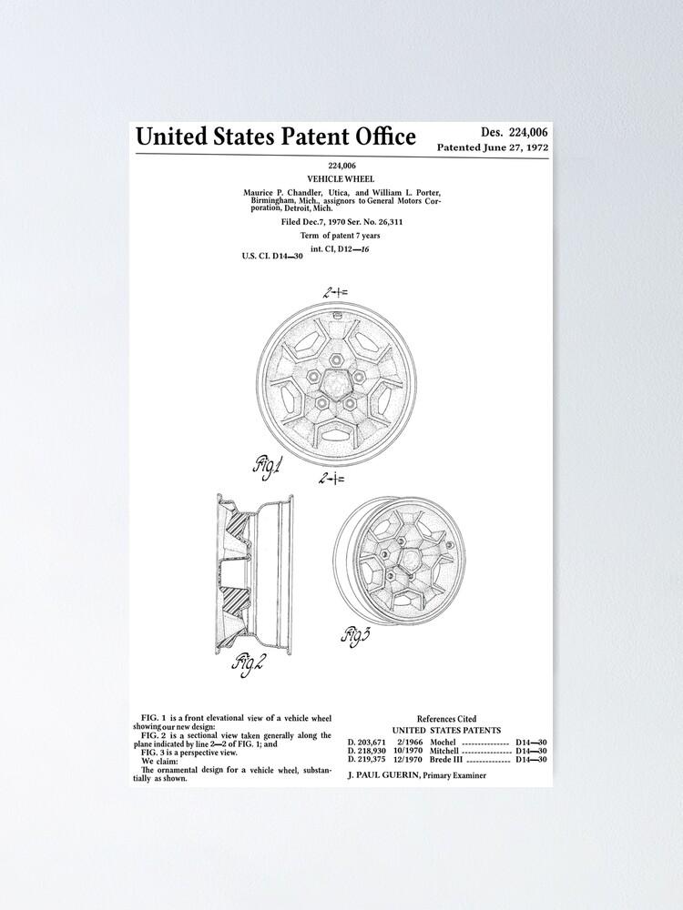 Classic Pontiac Honeycomb wheel