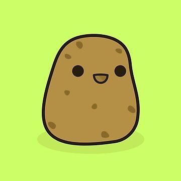 Cute potato by peppermintpopuk