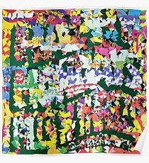 Happy Mondays - Thrills Pills n' Bellyaches Rocketted Poster