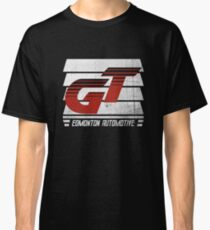 Edmonton Auto - Red & White - Slotted Up Classic T-Shirt