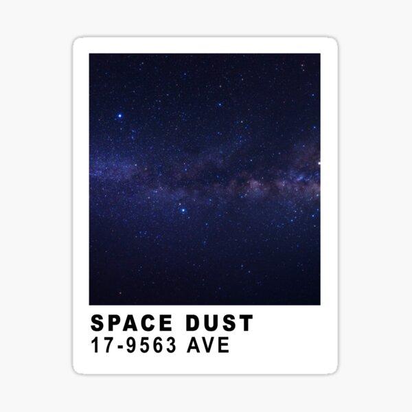Space Dust Pantone Card Sticker