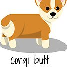 Corgi Butts are the best! by smaddingly
