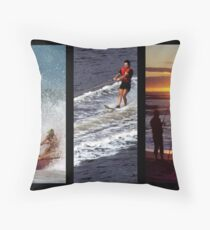 Summer Pastimes In Australia Throw Pillow