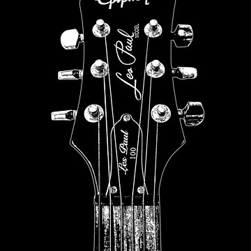 Epiphone Les Paul 100 Head - Headstock-Rock-Blues-Music by carlosafmarques