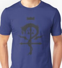 Flamel Ouroboros Cross Unisex T-Shirt