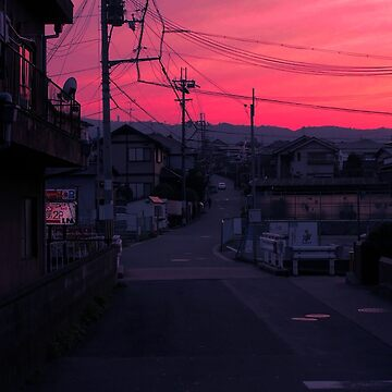 Pink aesthetic street by youngweezing