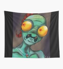Now I'm dead meat Wall Tapestry