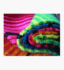 Mexican Multicolours Photographic Print