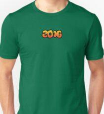 Lucky Number 2016 T-Shirt Unisex T-Shirt