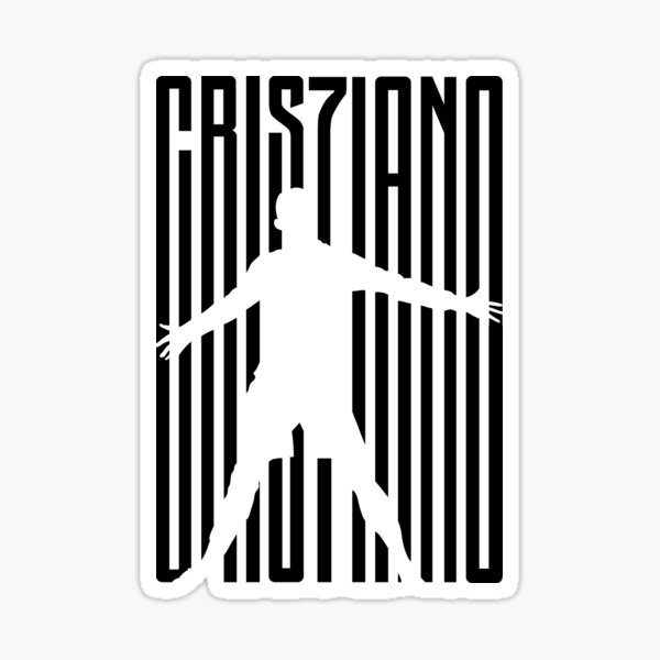 Cristiano Ronaldo - Juventus Sticker